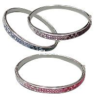 CRYSTALLIZED™ Crystal Sterling Silver Bracelets