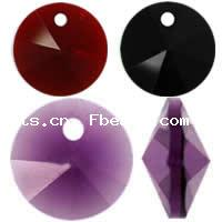 CRYSTALLIZED™ #6428 Crystal Xilion Rivoli Pendants
