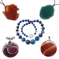 Agate Jewelry Necklace