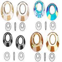 CRYSTALLIZED™ Elements #6040 Crystal Helios Pendants