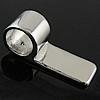 Stainless Steel Glue on Bail, 316 Stainless Steel, Rectangle, original color, Hole:Approx 5mm, Sold By PC