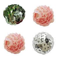 Plastic Paillette Woven Beads