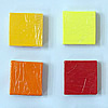 Ploymer Clay Cane, Polymer Clay, Square, more colors for choice, 40x40x15mm, Sold By PC