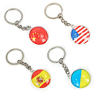 Glass Key Chain
