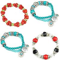Crystal Turquoise Bracelets