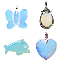 Sea Opal Pendants