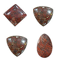 Brecciated Jasper Pendants