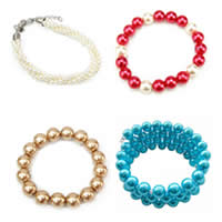 Glass Pearl Jewelry Bracelets