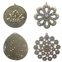 Acrylic Iron Pendants