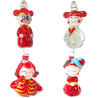 Cartoon Lampwork Pendants