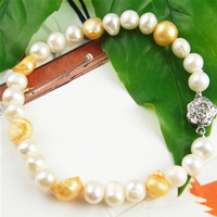 Freshwater Pearl Bracelet, Length:7.5 Inch, Sold By Strand