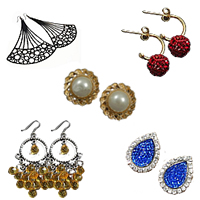 Metal Alloy Earring Jewelry
