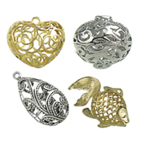 Hollow Brass Pendants