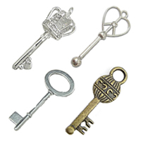 Brass Key Pendants