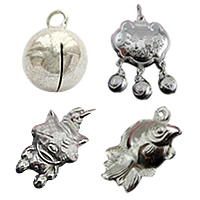 Sterling Silver Bell Pendants