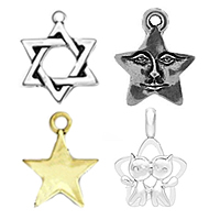 Sterling Silver Star Pendants