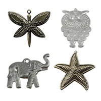 Iron Animal Pendants