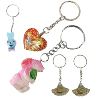 Resin Key Chain Jewelry