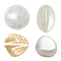 Imitation Pearl Plastic Beads