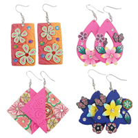 Polymer Clay Drop Earring