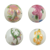 Decal Porcelain Beads