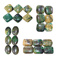 Natural Olivine Turquoise Beads