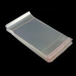 OPP Self Sealing Bag, OPP Bag, transparent, white, 1000PCs/Lot, Sold By Lot