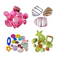 Mixed Acrylic Jewelry Beads