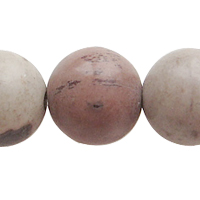 Chinese Painting Stone Bead