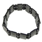 Hematite Bracelet, different styles for choice, 16.5x9mm, Length:7 Inch, Sold By Strand