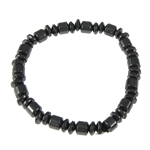 Hematite Bracelet, different styles for choice, 6x6mm, Length:7.5 Inch, Sold By Strand