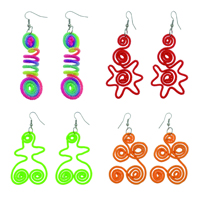 Handmade Nylon Earring