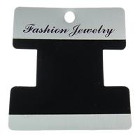 Bracelet Display Card, Polypropylene(PP), Letter I, Customized, 70x76mm, 1000PCs/Bag, Sold By Bag