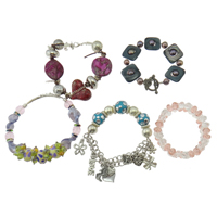 Mixed Material Bracelets