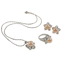 Sterling Silver Freshwater Pearl Jewelry Sets