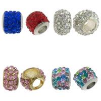Rhinestone Brass Beads
