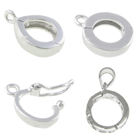 Sterling Silver Twister Clasp