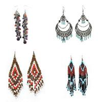 Glass Seed Beads Earring