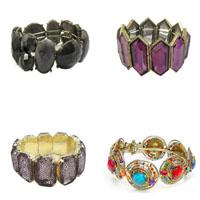 Acrylic Brass Bracelets