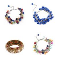 Plastic Pearl Bracelets