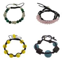 Gemstone Shamballa Bracelets