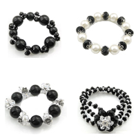 Plastic Beads Crystal Bracelet