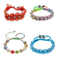 Crystal Woven Ball Bracelets