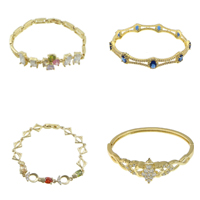 Cubic Zircon Brass Bracelets