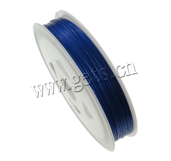 Tiger Tail Wire, with plastic spool, electrophoresis, more colors for choice, Length:Approx 320 m, 10PCs/Lot, 32m/PC, Sold By Lot