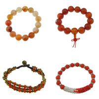 Red Agate Bracelets