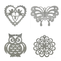 Filigree Stainless Steel Stamping Jewelry