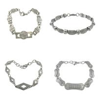 Stainless Steel Rhinestone Bracelets