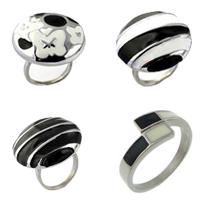 Enamel Stainless Steel Finger Ring
