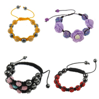 Resin Shamballa Bracelets